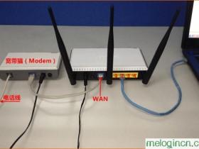 melogin.cn  wifimw351r怎么设置